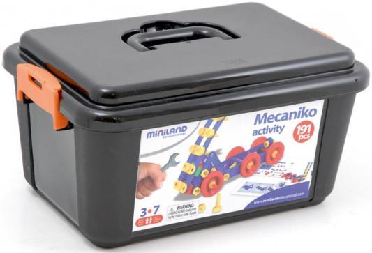 Механический конструктор Miniland Activity Mecaniko 191 элемент 32650