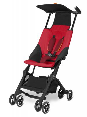 Прогулочная коляска GB Pockit (dragonfire red) коляска gb коляска прогулочная pockit dragonfire red