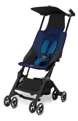 Прогулочная коляска GB Pockit (sea port blue) коляска прогулочная gb pockit capri blue