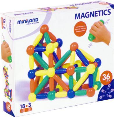 Магнитный конструктор Miniland Magnetics 36 элементов 94105
