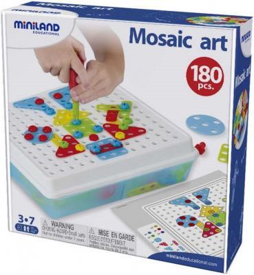 Механический конструктор Miniland Mosaic Art 180 элементов 95020