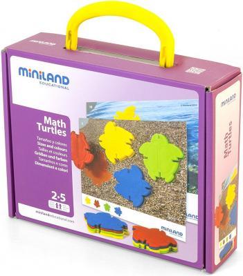 Настольная игра Miniland развивающая Черепашкина математика 31797