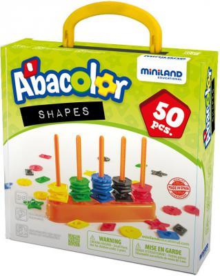 Настольная игра Miniland развивающая Цветной счет 100 элементов 45310