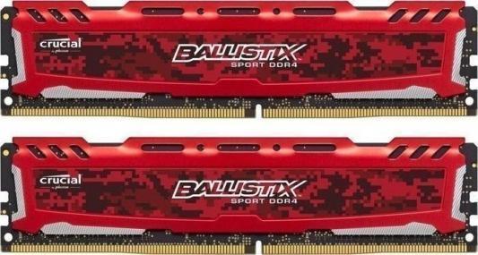 Оперативная память 8Gb (2x4Gb) PC4-19200 2400MHz DDR4 DIMM Crucial BLS2C4G4D240FSE