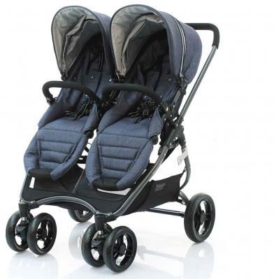 Коляска прогулочная для двойни Valco Baby Snap 4 Ultra Duo Tailormade (denim)
