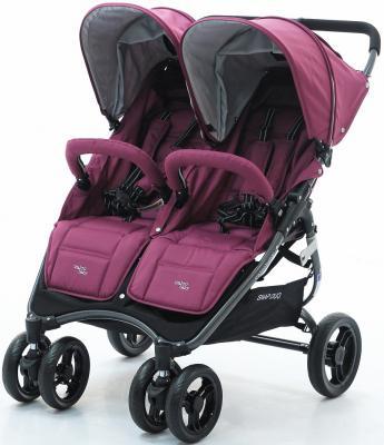 Прогулочная коляска для двоих детей Valco Baby Snap Duo Tailormade (wine)