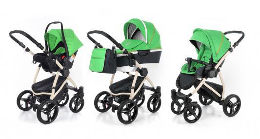 Коляска 3-в-1 Esspero Newborn Lux Alu (шасси beige/green)