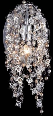 Настенный светильник Crystal Lux Caro AP1 Chrome