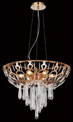 Подвесная люстра Crystal Lux Dorotea SP5 D450 Gold