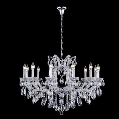 Подвесная люстра Crystal Lux Hollywood SP12 Chrome люстра crystal lux fontain sp8