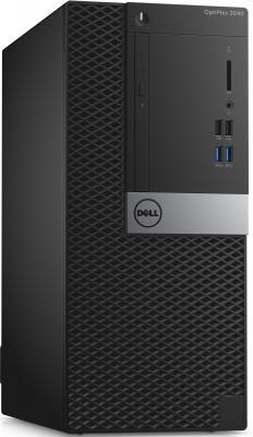 Системный блок DELL Optiplex 3046 MT G4400 3.3GHz 4Gb 500Gb HDG510 DVD-RW Ubuntu клавиатура мышь черный серебристый 3046-0117