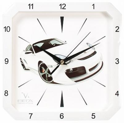 Часы настенные Вега П4-7610/7-48 белый часы вега п4 14 7 86 новогодние подарки разноцветный