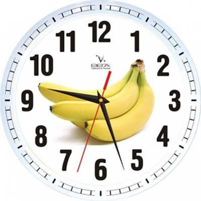 Часы Вега П1-7617/7-62 Бананы —