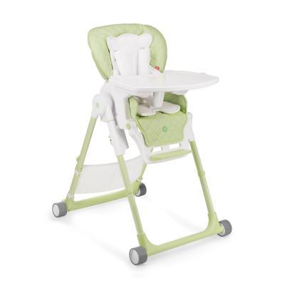 Стульчик для кормления Happy Baby William V2 (green) happy baby ходунки smiley v2 цвет голубой