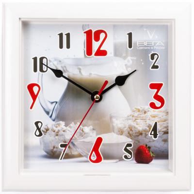 Часы настенные Вега П3-7-109 белый