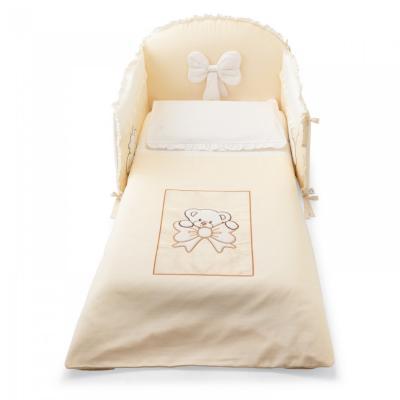 Комплект постельного белья 3 предмета Palii Principe (магнолия) кроватка качалка pali principe prestige магнолия