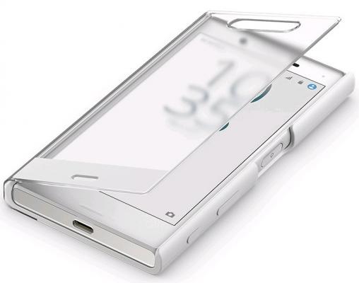 Чехол SONY SCTF20 для Xperia X Compact белый чехол sony scr50 для sony xperia x