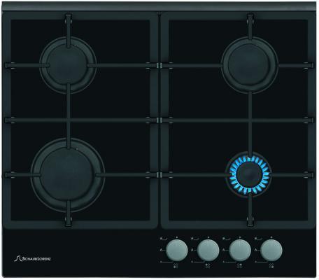 Варочная панель газовая Schaub Lorenz SLK GY6220 черный