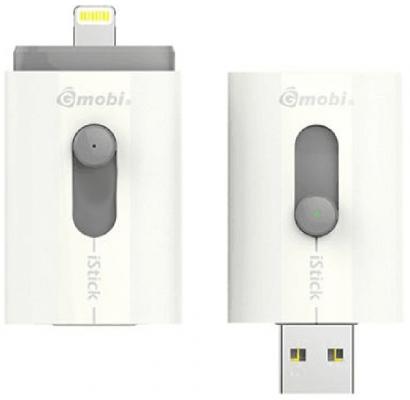 Флешка USB 64Gb PQI Gmobi iStick T008L 608L-064GR102A белый цены