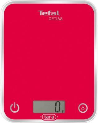 Весы кухонные Tefal BC5003V1 красный весы кухонные tefal bc5008v0