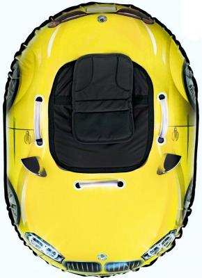 Тюбинг RT SNOW AUTO X6 до 120 кг желтый ПВХ