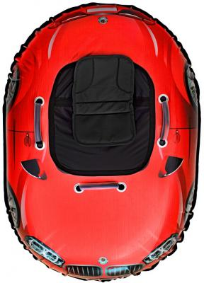 Тюбинг RT SNOW AUTO X6 до 120 кг красный ПВХ