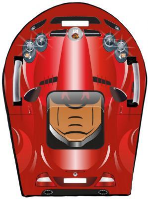 Тюбинг RT SNOW AUTO SLR MClaren до 120 кг красный ПВХ