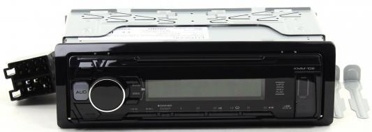 Автомагнитола Kenwood KMM-102AY USB MP3 CD FM 1DIN 4х50Вт черный