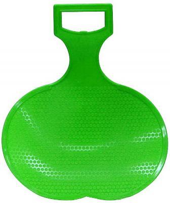 Санки RT Ледянка малые зеленый пластик санки ледянка пластик снежный гонщик до 40 кг пластик