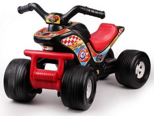 Каталка-квадроцикл R-Toys ТЕХНО черно-красный до 1 года пластик 5907