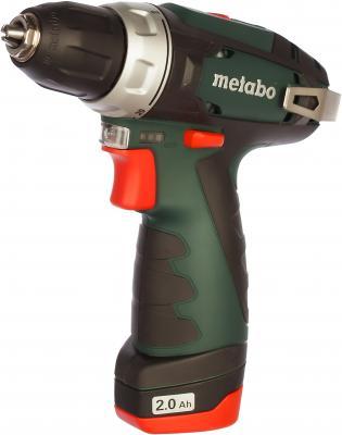 Аккумуляторная дрель-шуруповерт Metabo PowerMaxxBS 600080960 аккумуляторная дрель шуруповерт metabo powermaxx bs quick pro 600157700