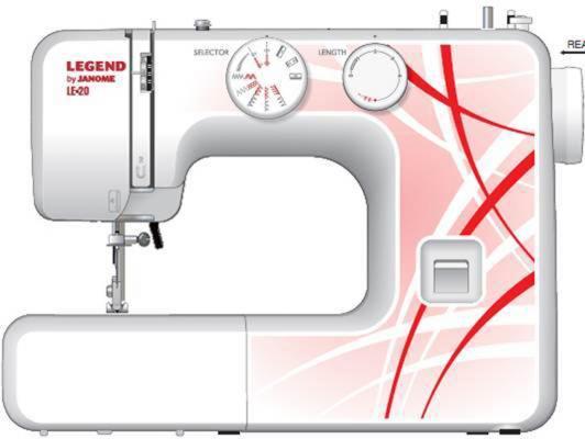цена на Швейная машина Janome Legend LE20 белый/рисунок