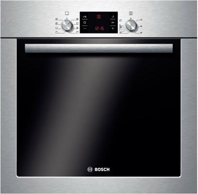 Электрический шкаф Bosch HBA43T350 серебристый