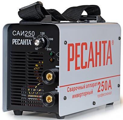 Аппарат сварочный Ресанта САИ 250 65/23 инверторный сварочный аппарат инверторный ресанта саи 250к компакт