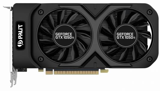 Видеокарта Palit GeForce GTX 1050 Ti GeForce GTX1050Ti Dual OC 4G PCI-E 4096Mb 128 Bit Retail (GTX 1050 Ti DUAL OC) computer pc vga cooler fans graphics card fan for palit gtx 770 video card cooling