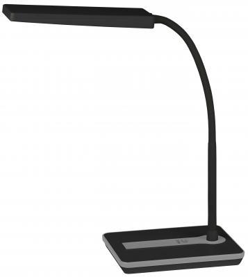 Настольная лампа ЭРА NLED-446-9W-BK черный лампа настольная эра nled 426 3w bk