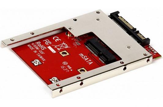"""Переходник-конвертер Smartbuy ST-168M-7 для mSATA SSD в 7mm 2.5"""" SATA"""