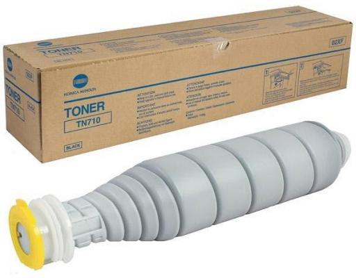 Тонер Konica Minolta TN-710 для bizhub 601/751 55000стр 1 piece good quality opc drum for konica minolta bizhub 600 601 750 751 7155 7165 dr 710 long life copier parts