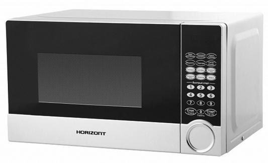 СВЧ Horizont 20MW800-1479BDS 800 Вт белый микроволновая печь horizont 20mw800 1479bds