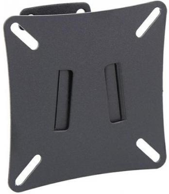 "Кронштейн Holder LCD-T1502-B черный для ЖК ТВ 10-26"" фиксированный VESA 100x100 до 250 кг"