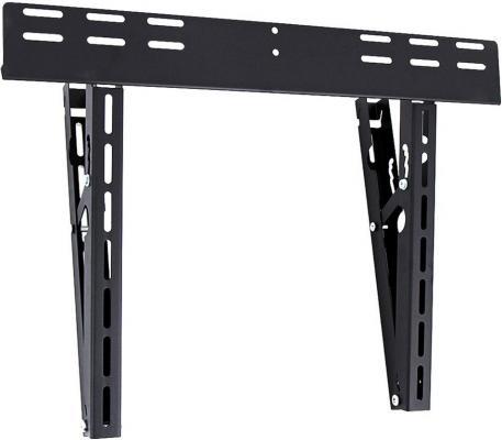 Кронштейн Holder LCD-T6512-B черный для ЖК ТВ 32-70 настенный наклонный 60 кг кронштейн для тв и панелей настенный holder lcd t4608 b 32 65 lcd t4608 b