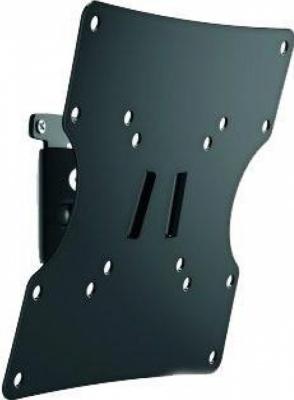 "Кронштейн Holder LCD-T2502-B черный для ЖК ТВ 17-40"" настенный поворот наклон до 30 кг"