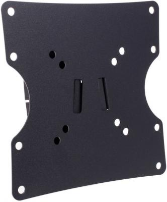 "Кронштейн Holder LCD-M2503-B черный для ЖК ТВ 17-40"" настенный наклонный до 30 кг"
