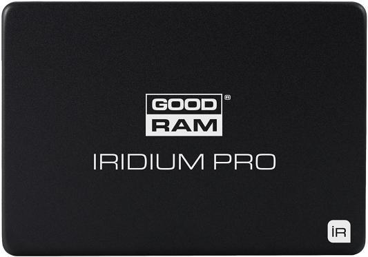 Твердотельный накопитель SSD 2.5 960Gb Goodram Iridium PRO Read 560Mb/s Write 530Mb/s SATAIII SSDPR-IRIDPRO-960 твердотельный накопитель ssd m 2 64gb transcend mts600 read 560mb s write 310mb s sataiii ts64gmts600
