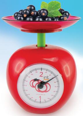 Весы кухонные Irit IR-7132 красный