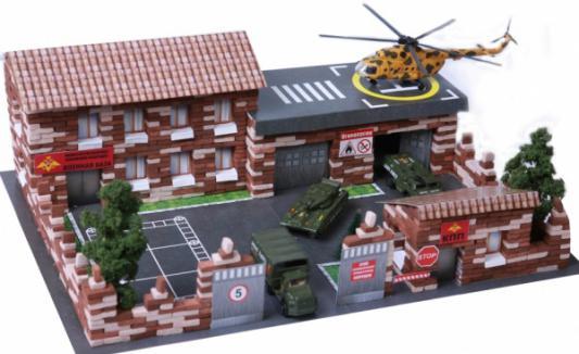 Конструктор Архитектурное моделирование Военная база 1460 элементов
