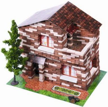 Конструктор Архитектурное моделирование Дачный дом 650 элементов