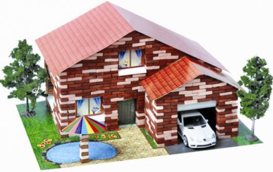 Конструктор Архитектурное моделирование Дом с бассейном 870 элементов