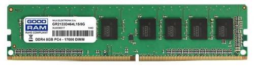 Оперативная память 8Gb PC4-17000 2133MHz DDR4 DIMM GoodRAM CL15 GR2133D464L15/8G