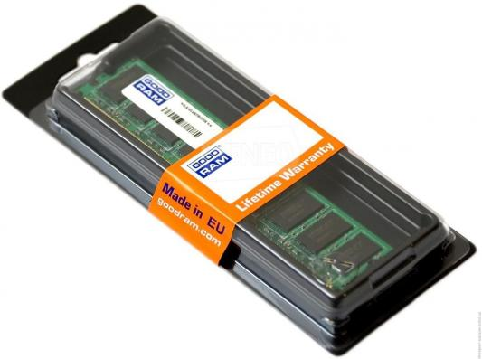 Оперативная память 4Gb PC3-12800 1600MHz DDR3 DIMM GoodRAM CL11 GR1600D3V64L11S/4G
